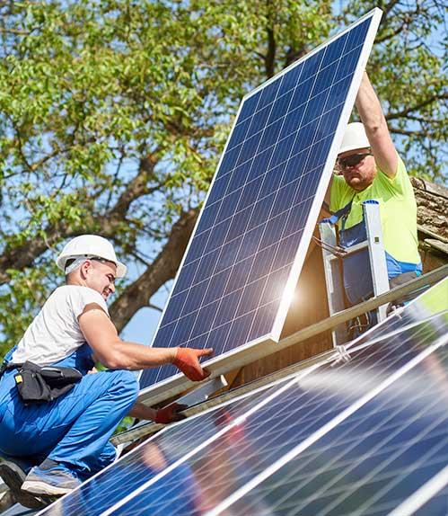 Installation et raccordement Macullo Solar